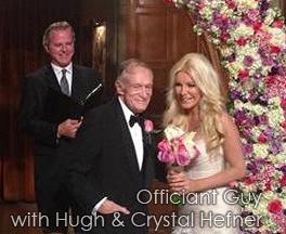 Hugh Hefner's Wedding Officiant