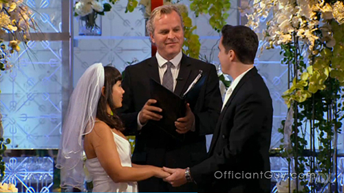 wedding officiant on Hell's Kitchen