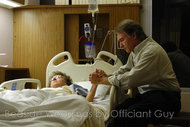 hospital weddings wedding officiant